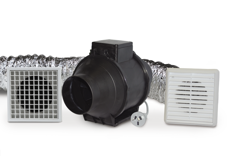 In Line Duct Mounted Fan Kits Fantech Trade